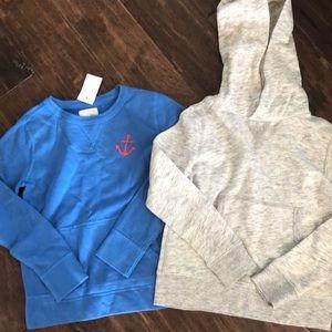 Crew cuts boys sweat shirts